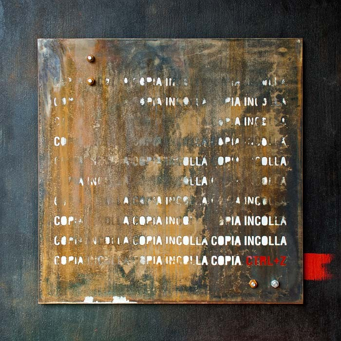 Giulio Centurelli ruggine rust painting